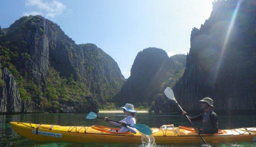 Calamian Kayak Snorkel Sea Safari Full Day Trip