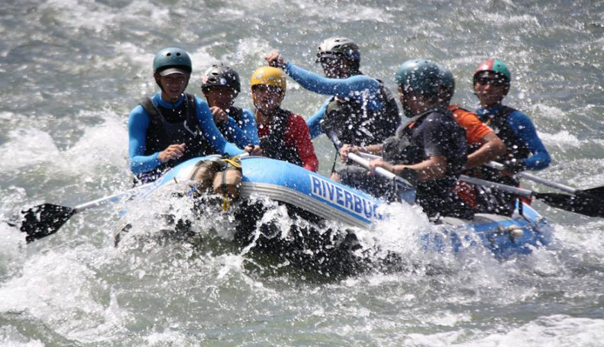 Kampar River White Water Rafting