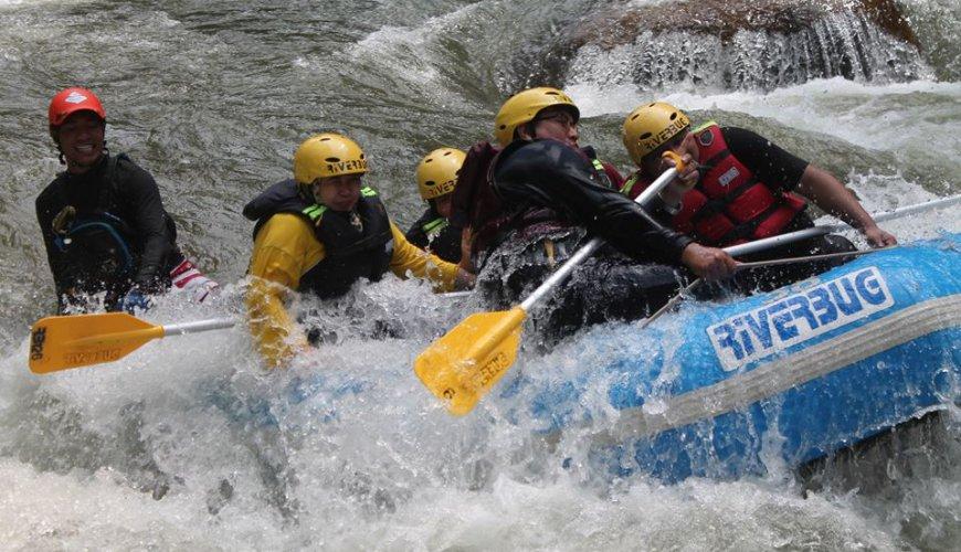Kampar River White Water Rafting