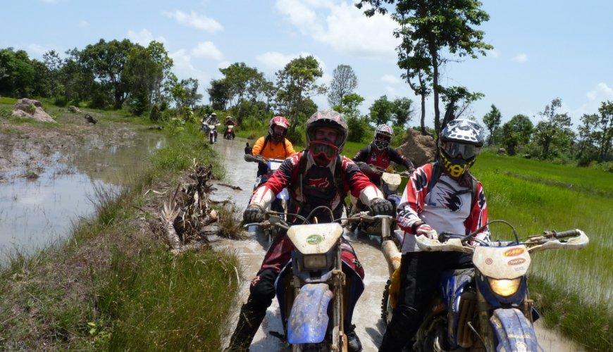 Mekong River Dirt Bike Trip