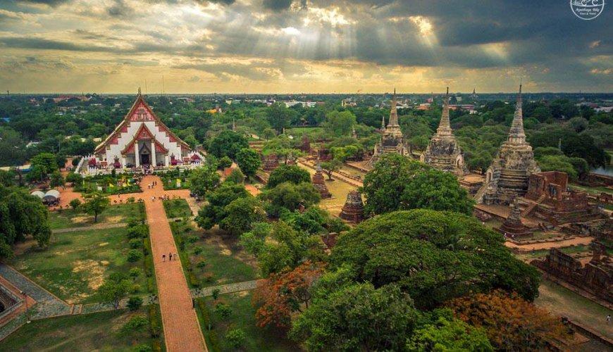 Unesco Town Ayutthaya