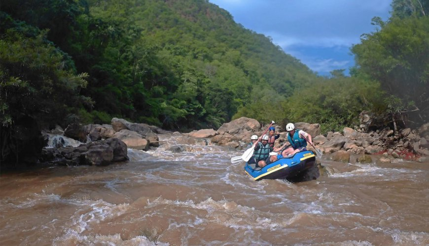 Whitewater Rafting Trekking Expedition