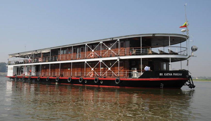 Irrawaddy Delta Cruising
